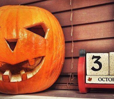 comemorar halloween